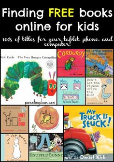 free education websites for kids - Free Kid Books