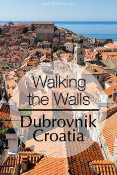 Dubrovnik Croatia Walking the Walls