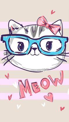 Meow Cute Cat Wallpaper