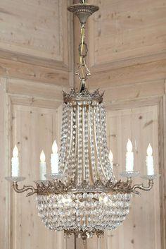 Vintage Sack of Pearls Chandelier | Antique Chandeliers | Inessa Stewarts Antiques