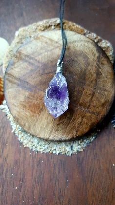 Check out this item in my Etsy shop https://www.etsy.com/listing/458334764/amethyst-crystal-necklace-amethyst