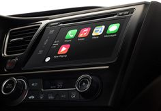 carplay by Apple (think iPad in your dash & talking to Siri to play your songs)