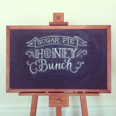 sugar pie honey bunch font