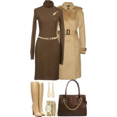 Polyvore Sweater Outfits | fashion look from November 2013 featuring Ralph Lauren dresses ...