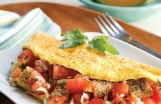 Tomato and Garlic Omelet | EatFresh