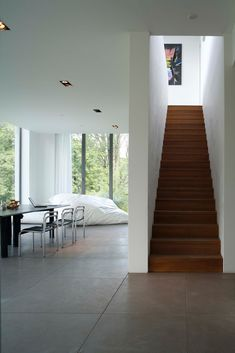 Wohnen - Einrichtung, Dekoration Treppe Tomatoes: Apples Of Love Native to the Andean region of Sout Living Room Wall Units, Open Plan Kitchen Living Room, Living Spaces, Interior Stairs, Home Interior Design, Flooring For Stairs, Townhouse Designs, Bungalow Renovation, House Stairs