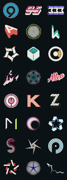 Part of the recent update of project Logo Vol 01. It consist of WIP, alternative designs and variation