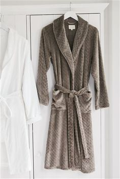 Buy Mink Textured Robe from the Next UK online shop