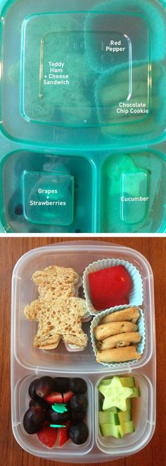 Quick and easy lunch idea   packed in @EasyLunchboxes