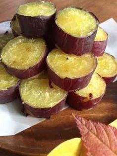 Popular with school lunch! Sweet potatoes not crushed ♪ Sweets Recipes, Cooking Recipes, Yummy Food, Tasty, Asian Desserts, Japanese Sweets, Cafe Food, Food To Make, Food And Drink