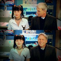 love this moment between abbs and gibbs // NCIS 3x05 Switch