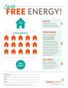 http://ambitwomen.myambit.com/rates-and-plans/ambit-advantages/free-energy Ambit Energy is the only retail energy provider that helps its customers get Free Energy & The Energy Moms can help you; respond to this post if you'd like to learn more