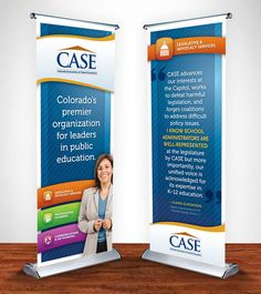 retractable banner stand for solutions for aging health wealth