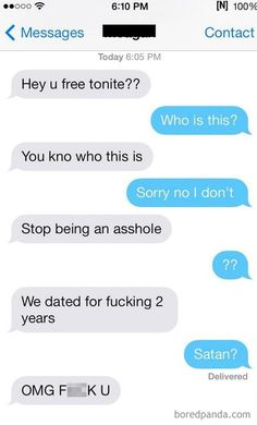 Brutal Responses To Ex Texts – 80 Pics