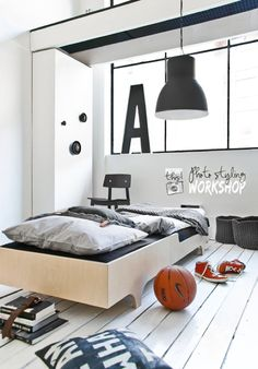 Unisex Modern Kids Bedroom Designs Ideas – Decorating Ideas - Home Decor Ideas and Tips Teen Boy Rooms, Teenage Room, Teen Boys, Big Boys, Kids Rooms, Boys Room Design, Kids Bedroom Designs, Modern Kids Bedroom, Stylish Bedroom