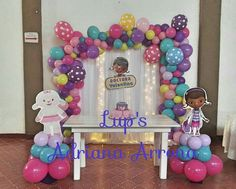 1st Birthday Favors, Twin Birthday, 4th Birthday, Birthday Parties, Dr Mcstuffin, Doctor Mcstuffins, Doc Mcstuffins Birthday Party, Ideas Para Fiestas, Party Themes