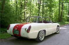 Couper's Classic Cars - Jaguar Powered Sprite Restoration