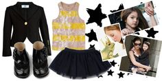#Black and #Gold for your #divas! this is freaking cute!  You can find #Kid-A-Porter on MyChildWorld