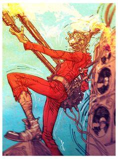 BROTHERTEDD.COM - johnny-dynamo: Doof Warrior by Carlos D'Anda