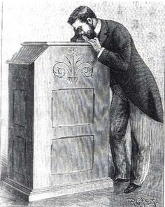 The kinetoscope began the market for motion pictures. It had a peep hole, which allowed only one individual to view the film at a time. Early kinetoscopes cost between a penny and nickel, which ultimately alerted investors of the possible financial gain in the market of film. By the mid 1890's, parlors for the kinetoscope opened in cities across the United States as well as Europe.