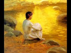Golden Dream By william lees judson Lost In Thought, Art Story, Art Thou, Yellow Art, Beautiful Dream, Art Themes, Old Master, Woman Painting, Art Reproductions