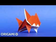 How to Make a Cute Origami Leaping Cat Tutorial (Stéphane Gigandet) - YouTube