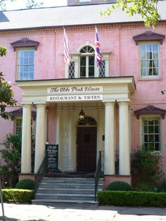The Olde Pink House—if I'm on the coast I have to squeeze in a slice of Key Lime Pie