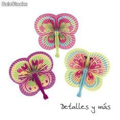 Pai Pai Fächer Schmetterlinge