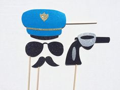 Police Photo Booth Props  Flic photos Prop  par LetsGetDecorative