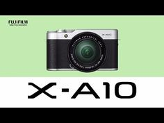 Fujifilm X-A10 is the cheapest X-series mirrorless camera.