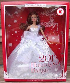 2013 Holiday Barbie Doll (Brunette), BARBIE & FRIENDS NRFB ARCHIVES