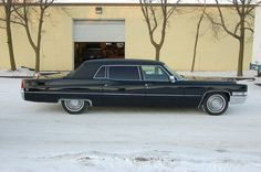 1969 Cadillac Fleetwood 75 Limousine