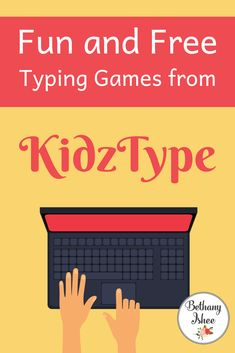 Typing and Keyboarding skills are essential in our technologically dependent world. KidzType makes it easy, affordable, and fun to add to your homeschool day. Homeschool Curriculum Reviews, Homeschool Math, Homeschooling Resources, Learn To Type, Free Typing, Maths Solutions, Typing Games, Typing Skills, School Resources