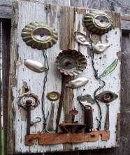 Mountaindale NY News: Yard Art...Beautifying Your Garden With Junk...September Workshop