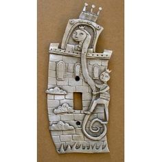 Rapunzel switchplate cover