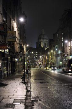St Paul's Cathedral taken from Fleet Street, London (LW11)