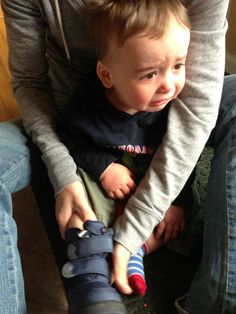 """""""Reasons my son is crying.""""  A hilarious Tumblr where a dad posts pictures of his son, when he happens to be crying, along with short, unemotional captions about why he is crying.  It's so funny."""