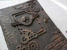 Hi, servus and welcome back, dear steampunk mixed media friends, to the announcement of our prize winners and The team and I want . Summer Special, Designers