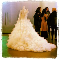David's Bridal's White by Vera Wang (Spring 2013) gorgeous gown
