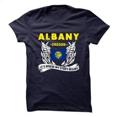 Albany - Oregon Its Where My Story Begins! - #athletic sweatshirt #sweater for teens. CHECK PRICE => https://www.sunfrog.com/LifeStyle/Albany--Oregon-Its-Where-My-Story-Begins.html?68278