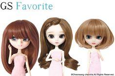 GS favorite:Brown hair set