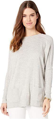 Mafulus Womens Tunic Tops Plaid Raglan Shirts Oversized Cowl Neck Long Sleeve Sweatshirt Pullover