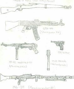 German weapons