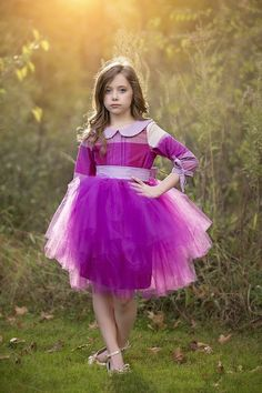 Penelope Dress PDF by Violette Field Threads; Dress made by Because of Brenna Tulle Fabric, Tulle Lace, Clothing Patterns, Dress Patterns, Kids Clothing, Sewing Patterns, Formal Skirt, Full Skirts, Everyday Dresses