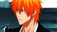When Ichigo stares into your soul. Bleach Manga, Ichigo Hollow Mask, Ichigo And Orihime, Manhwa, Animated Man, Bleach Characters, Otaku, Anime Angel, Hot Anime Guys