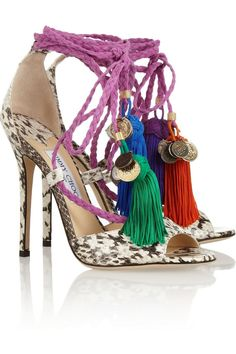 Dreaming of these Jimmy Choo 'Dream' sandals. #getzesty