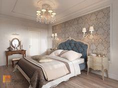 Фото интерьер спальни из проекта «Интерьер квартиры в классическом стиле, ЖК «Новомосковский», 60 кв.м.»