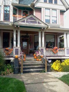 Victorian house in Massillon, Ohio