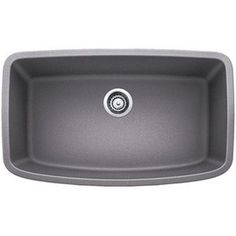 Blanco Valea Grey 1.0 Super Single-bowl Undermount Sink