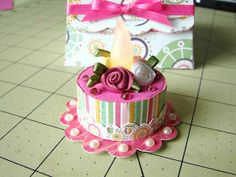 Crafts-n-Cards Cricut Corner: Tealight cake and box set